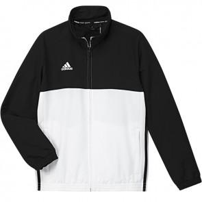 adidas T16 Team Jacke Jugendliche  Schwarz/Weiß