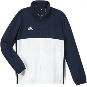 adidas T16 Team jack Youth Blauw/Wit 176