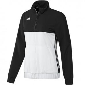 adidas T16 Team Jacke Frauen Schwarz/Weiß