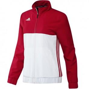 adidas T16 Team Jacke Frauen Rot/Weiß