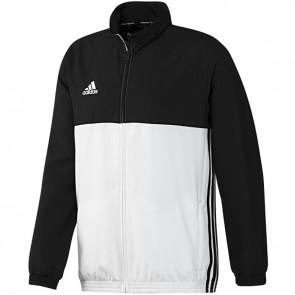 adidas T16 Team Jacke Männer Schwarz/Weiß