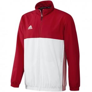 adidas T16 Team Jacke Männer Rot/Weiß