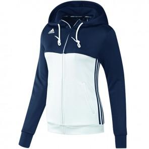 adidas T16 Team Hoodie Frauen Blau/Weiß