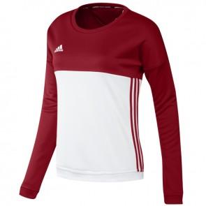 adidas T16 Crew Sweater Frauen Rot
