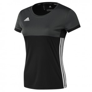 adidas T16 Clima T-Shirt  Frauen Schwarz Pink Boxen Logo
