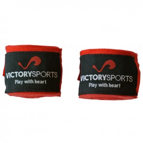 Victory Sports Bandagen  400 cm Rot