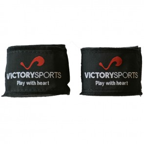 Victory Sports Bandagen 400 cm Schwarz
