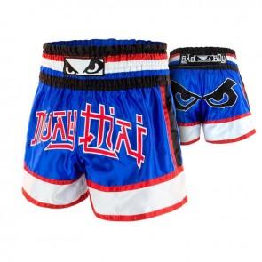 BadBoy Muay Thai Short Kao Loy Blauw