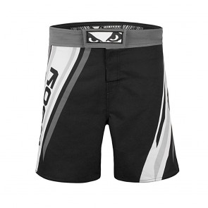BadBoy Pro Series Advanced MMA Shorts Zwart/Wit