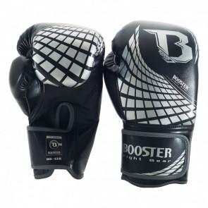 Booster BFG (kick)bokshandschoenen Cube Zwart/Zilver 10oz
