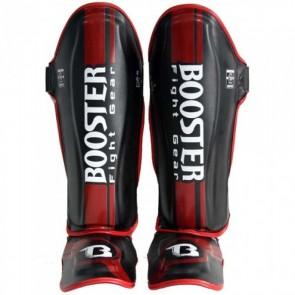 Booster Scheenbeschermer V3 Foil Zwart/Rood