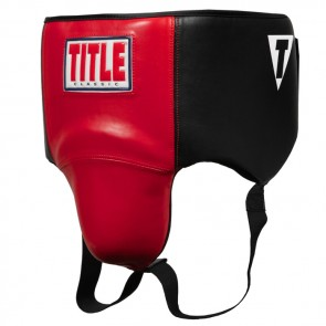 Title Kruisbeschermer Boxing-Classic 2.0 Ultra Light Zwart/Rood