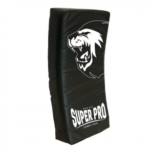 Super Pro Combat Gear gebogenes Kicking Shield black 75x35x15 cm