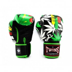 Twins (kick)bokshandschoenen Fantasy 3 Grass 16oz