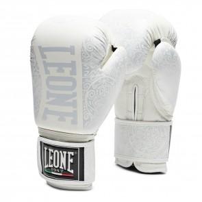 Leone (kick)bokshandschoenen Maori Wit