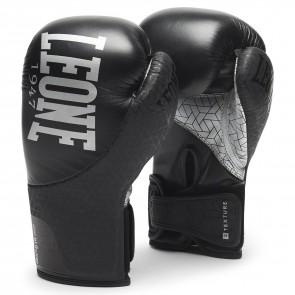 Leone (kick)bokshandschoenen Texture Zwart