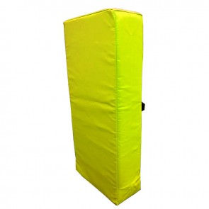Trap/stootkussen groot 75 x 35 x 15 cm Geel