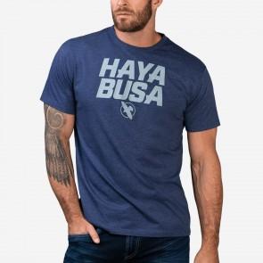 Hayabusa T-Shirt Casual Logo Blauw