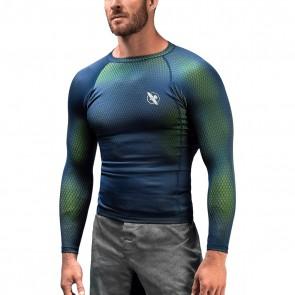 Hayabusa Fusion Rashguard Blau / Grün