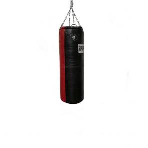 Super Pro Leder Boxsack Split Black/Red 122x35 cm