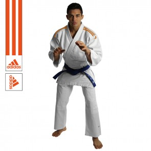 adidas Judopaket J350 Club Weiß/Orange