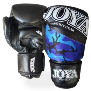 Joya Junior (kick)bokshandschoenen Top One Camo Blauw