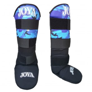 Joya Junior Schienbeinschoner Velcro Camo Blue Medium