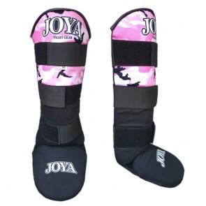 Joya Junior Scheenbeschermers Velcro Camo Roze
