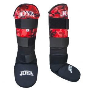 Joya Junior Schienbeinschoner Velcro Camo Red