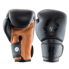 King (kick)bokshandschoenen KPB Star 3 Zwart/Bruin