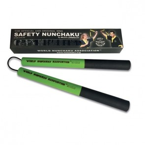 Safety Nunchaku Professional Groen Junior