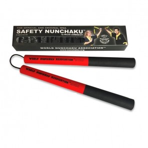 Safety Nunchaku Professional Rood Junior