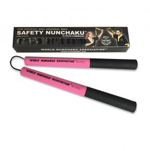 Safety Nunchaku Traditional Roze Senior
