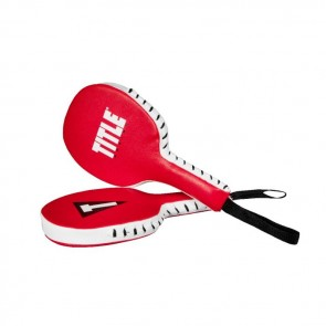 Title Punch Training Paddles Rood