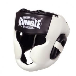 Rumble Kopfschutz PU Special Schwarz/Weiß