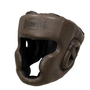 Rumble Kopfschutz Leder Retro