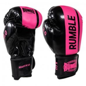 Rumble (kick)bokshandschoenen Junior 3.0 Zwart/Roze (Handschoenen)