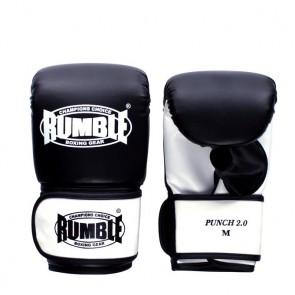 Rumble Boxsackhandschuhe PU Punch 2.0 Schwarz/Weiß