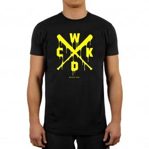 Wicked1 T-Shirt Drips Zwart