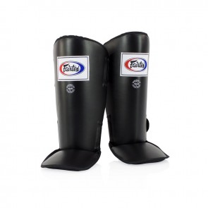 Fairtex Scheenbeschermers SP1 Zwart (Protectie)