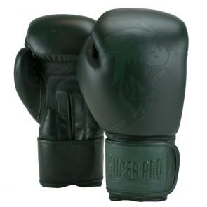Super Pro Combat Gear Legend SE Lederen (kick)bokshandschoenen Groen