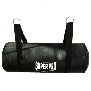 Super Pro Combat Gear Uppercut Boxsack black 30x80 cm