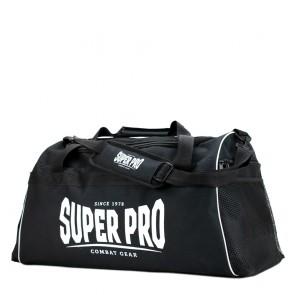 Super Pro Combat Gear Gym Sporttasche Schwarz / Weiß Large