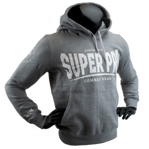 Super Pro Hoody S.P. Logo grey/white