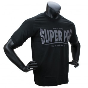Super Pro T-Shirt S.P. Logo black/grey