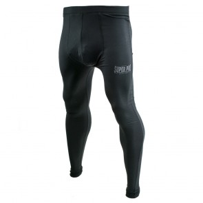 Super Pro Leggings Men Lion/Super Pro Logo black/grey M