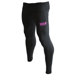 Super Pro Leggings Women Lion/Super Pro Logo black/pink L