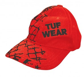 TUF Wear Flexcap Cage-Design rood
