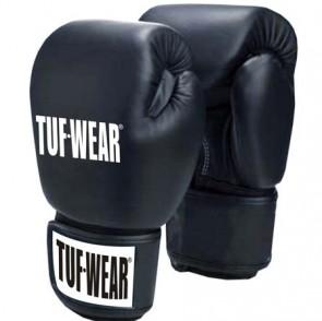 TUF Wear Muay Thai (Kick) Boxhandschuhe Schwarz 14 oz