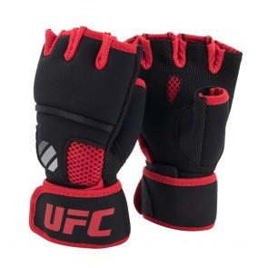 UFC Contender Quick Wrap Innenhandschuhe mit Gelpolsterung Schwarz / Rot